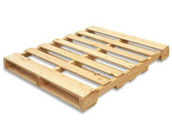 4-way Notched Wooden Pallet