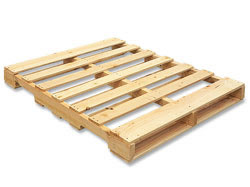 New 4-way Notched Wooden Pallet
