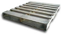 a used Grade 'A' 4-way pallet